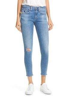 rag & bone Cate Ripped Ankle Skinny Jeans (Cabell)