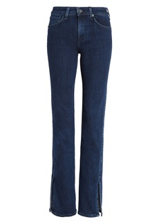 rag & bone Cate Ripped Skinny Jeans (Night Blue)