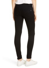 rag & bone Cate Skinny Jeans (No Fade Black)