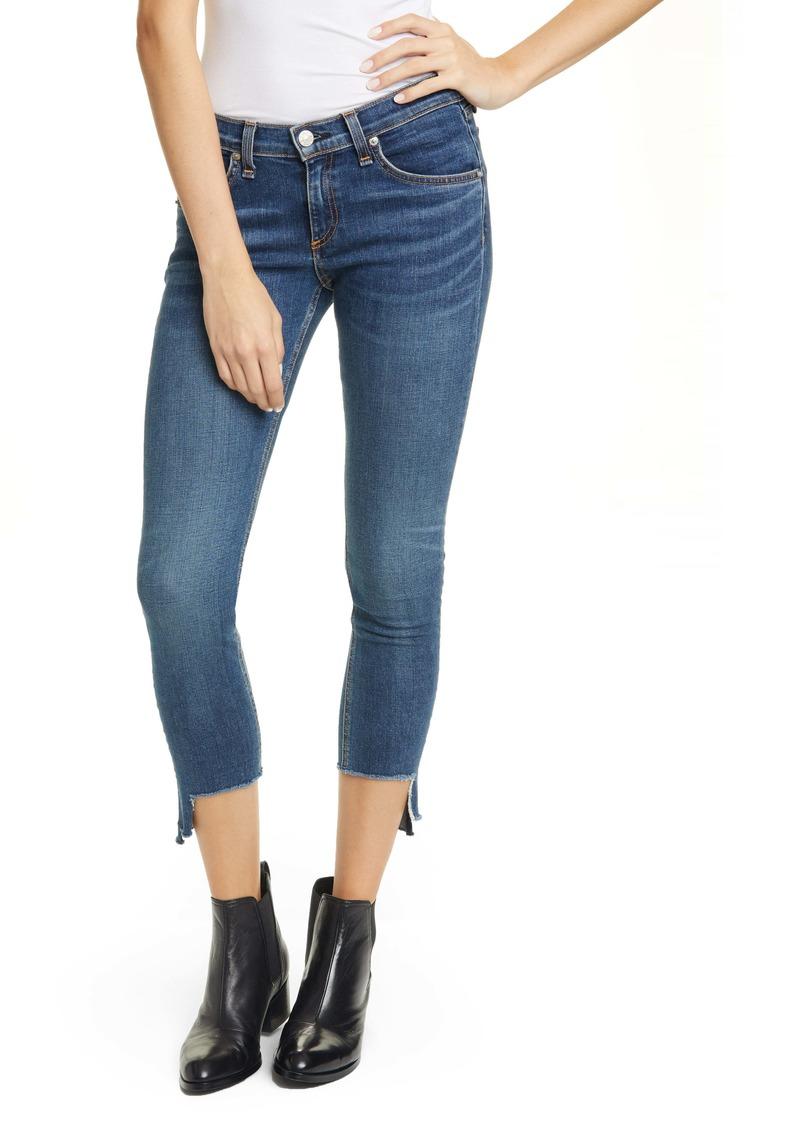rag & bone Cate Step Hem Ankle Skinny Jeans (Hampton)