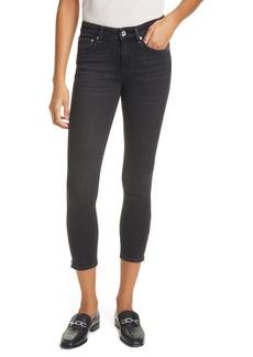 rag & bone Cate Zip Cuff Skinny Jeans (Highland)