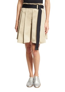 Rag & Bone Chapman Pleated Culottes with Belt