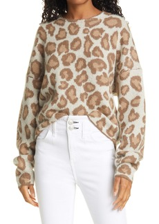 rag & bone Cheetah Crewneck Sweater