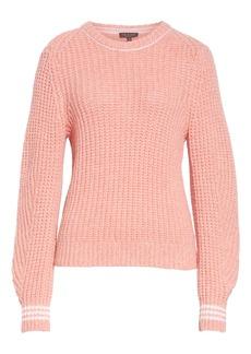 rag & bone Cheryl Stripe Cuff Wool Blend Sweater