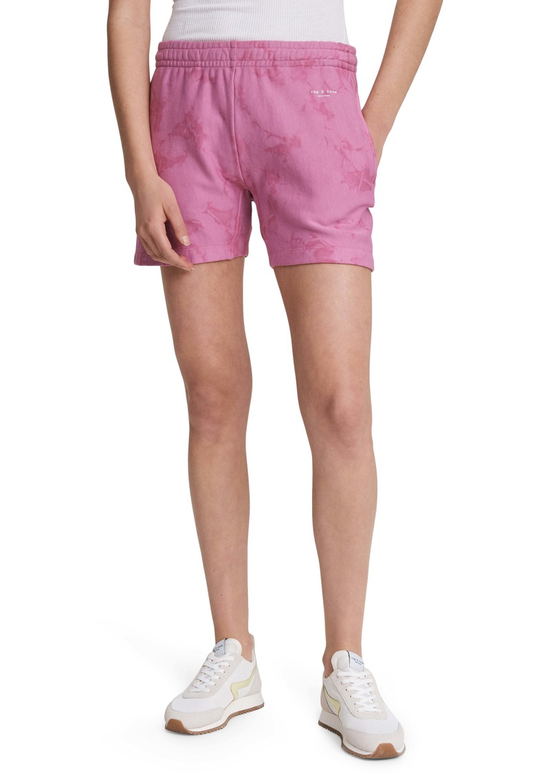 rag & bone City Tie Dye Sweat Shorts