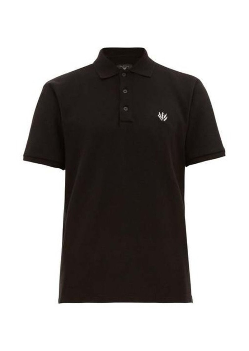 Rag & Bone Classic cotton-piqué polo shirt