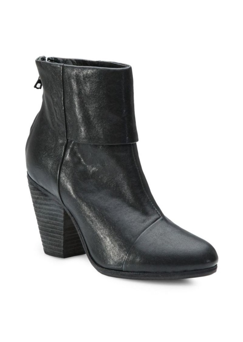 rag & bone Newbury Leather Ankle Boots