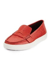 Rag & Bone Colby Embossed Leather Loafer-Style Sneaker