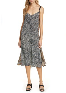 rag & bone Colette Twist Strap Silk Dress