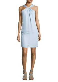 Rag & Bone Collingwood Knotted Halter Dress
