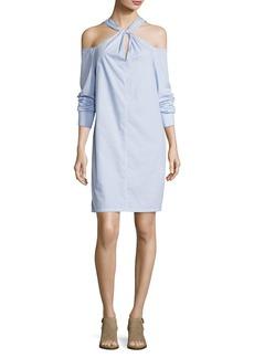 Rag & Bone Collingwood Long-Sleeve Cold-Shoulder Dress