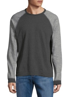 Rag & Bone Colorblock Cotton Blend Tee