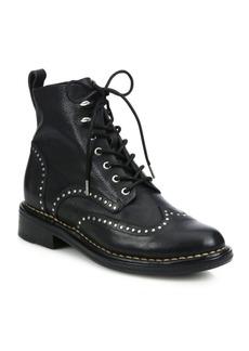 Rag & Bone Cozen Studded Leather Booties