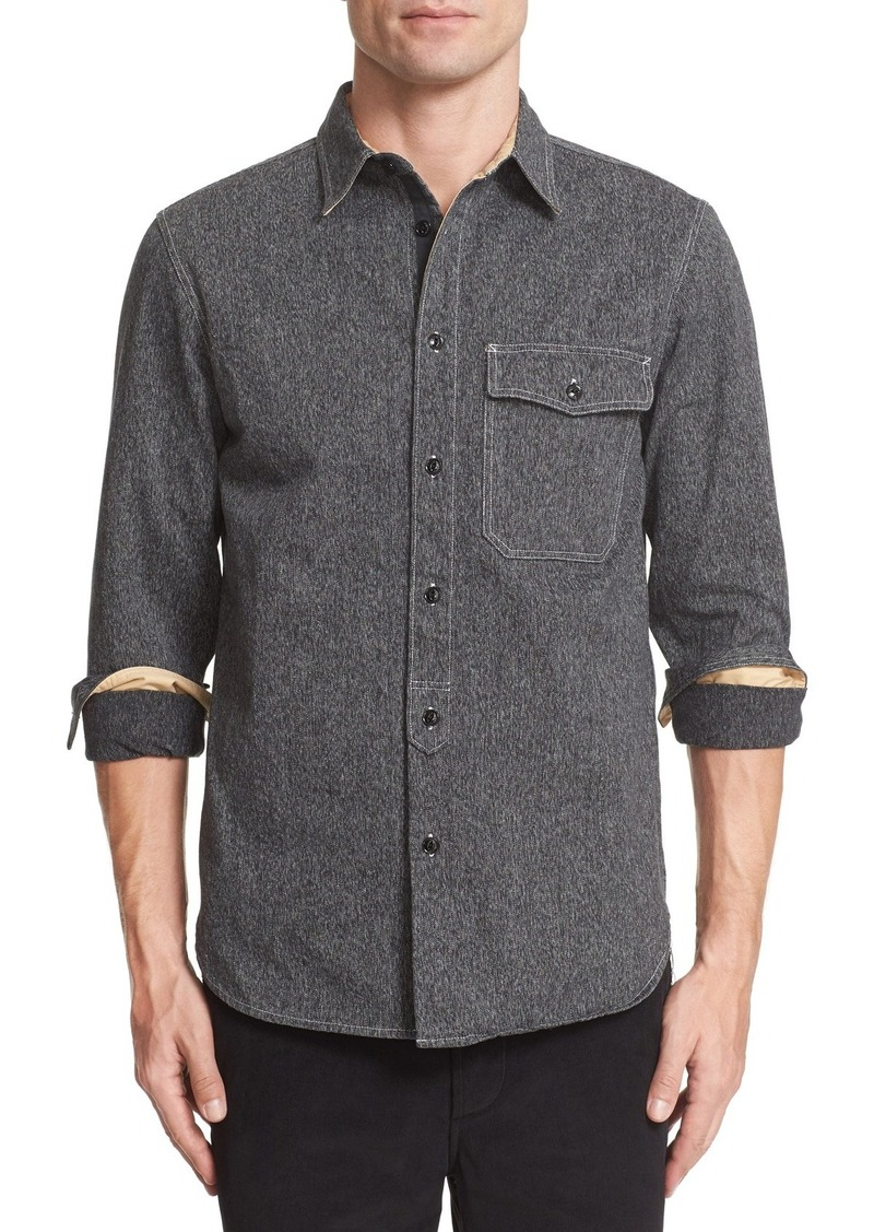 Rag Bone Rag Bone Cpo Woven Cotton Shirt Casual