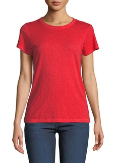 Rag & Bone Crewneck Cotton Short-Sleeve Tee