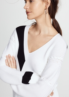 Rag & Bone Cricket V Neck Sweater