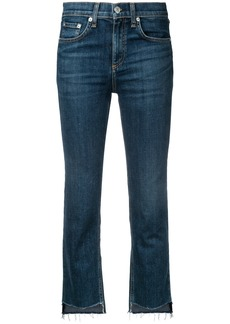 Rag & Bone cropped jeans - Blue