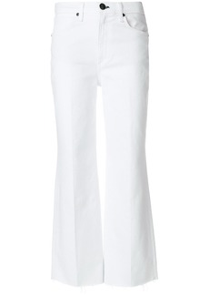 Rag & Bone cropped tailored trousers - White