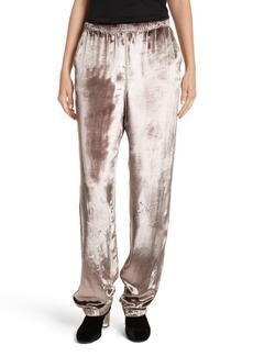 rag & bone Crushed Velvet Track Pants