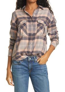 rag & bone Cruz Plaid Flannel Shirt
