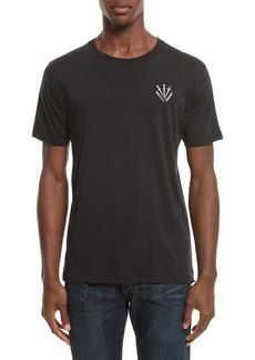 rag & bone Dagger Embroidered T-Shirt