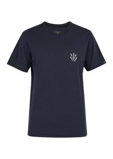 Rag & Bone Dagger-print cotton T-shirt