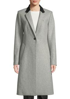 Rag & Bone Daine Single-Button Wool Coat