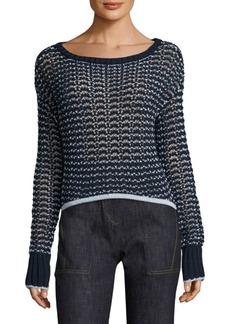 Rag & Bone Daniela Crocheted Top