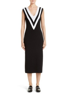 rag & bone Daphne Varsity Sweater Dress