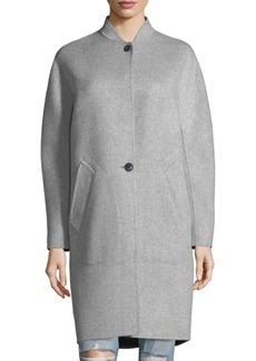 Rag & Bone Darwen Long-Line Wool-Cashmere Long Coat