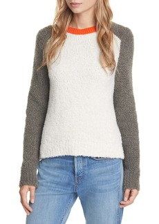 rag & bone Davis Colorblock Crew Sweater