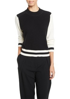 Rag & Bone Dean Mock-Neck Wool Sweater