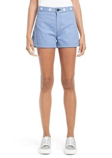 rag & bone Denim Shorts (Powder Blue)