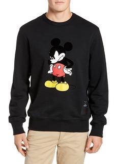 rag & bone Determined Mickey Mouse Unisex Sweatshirt