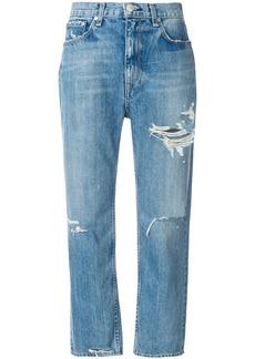 Rag & Bone distressed boyfriend jeans - Blue