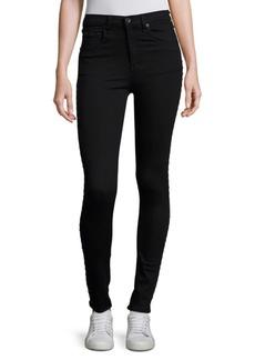 Dive Super High Rise Grommet Detail Jeans