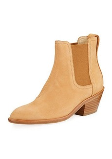 Rag & Bone Dixon Nubuck Heeled Ankle Boot