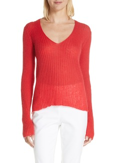 rag & bone Donna Mohair & Wool Blend Sweater