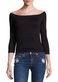 Rag & Bone Donna Off-The-Shoulder Top