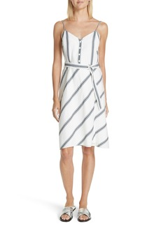 rag & bone Doris Stripe Cotton & Linen Dress