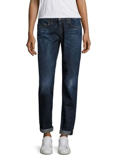 Rag & Bone Dre Crop Jeans with Cuff