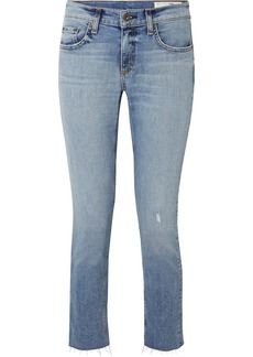 Rag & Bone Dre distressed slim boyfriend jeans