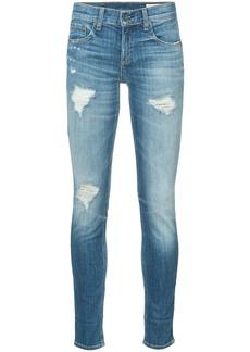 Rag & Bone Dre distressed skinny jeans - Blue