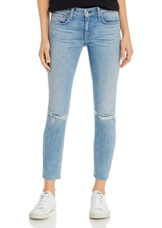 rag & bone Dre Distressed Slim Boyfriend Jeans in Alyssa