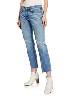 Rag & Bone Dre Low-Rise Ankle Slim Boyfriend Jeans