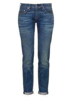 Rag & Bone Dre low-rise slim-leg jeans