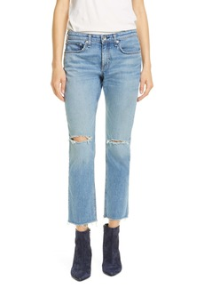 rag & bone Dre Ripped Ankle Slim Boyfriend Jeans (Sonny Who)