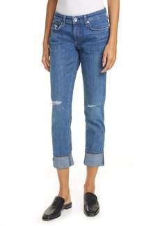 rag & bone Dre Ripped Slim Boyfriend Jeans (Mission)