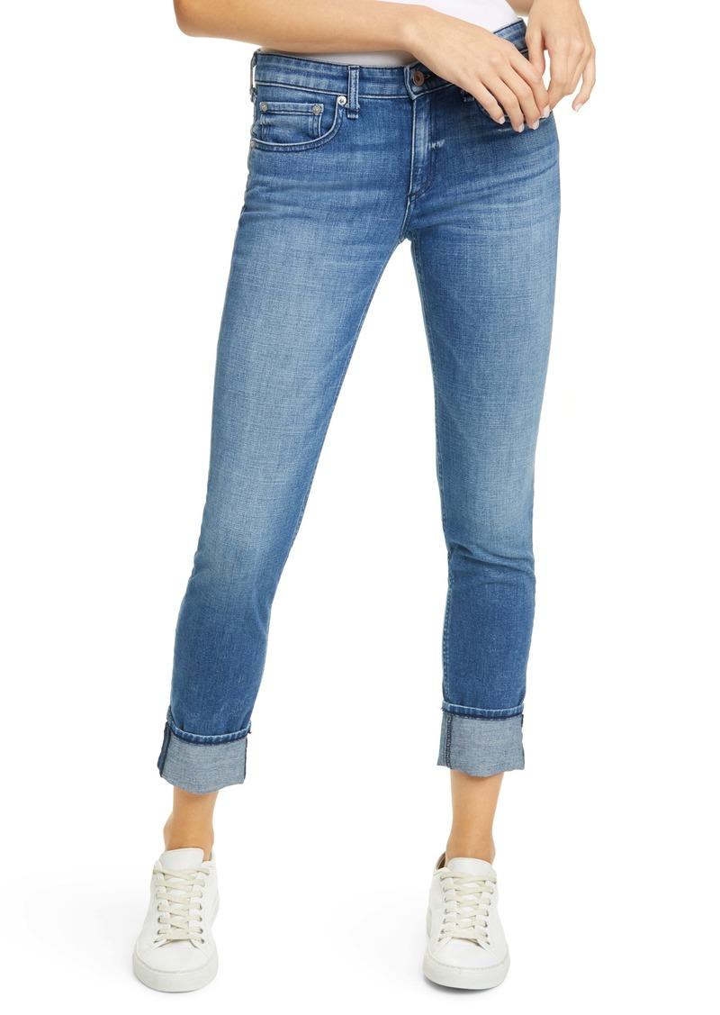 rag & bone Dre Slim Boyfriend Jeans (Sapphire)