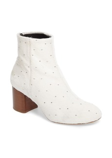 rag & bone Drea Genuine Calf Hair Block Heel Bootie (Women)